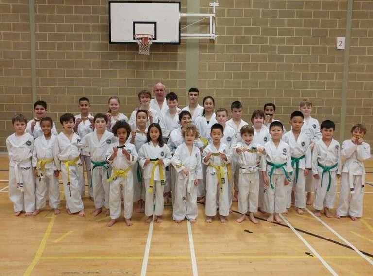 Brighton Martial Arts next Xtreme Team junior Squad Training
