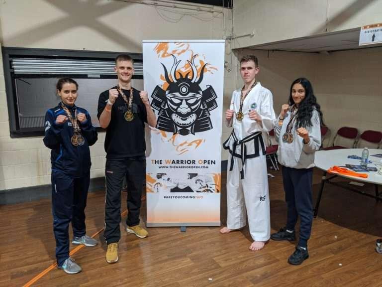 Brighton & Hove Xtreme Team Black Belts Success at Warrior Tournament